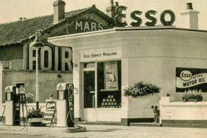 Ancienne station Esso Moulins
