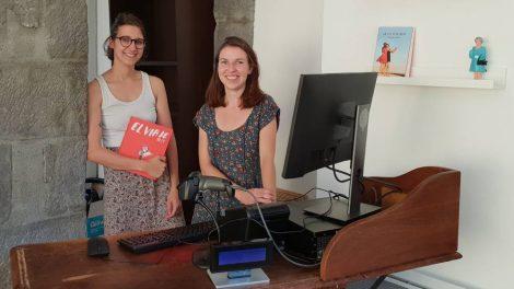 Emma's Bookshop : Émilie Debur et Marie Gustot / Photo 7 Jours à Clermont