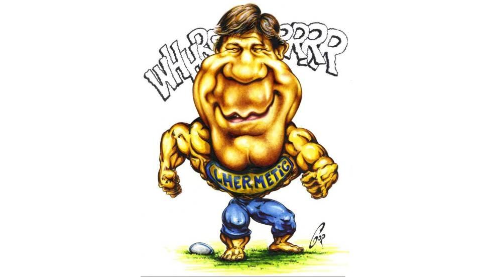 Carricature de Jean-Marc Lhermet par Jean-Louis Gorce