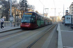 Clermont, Tram bld Charles de Gaulle