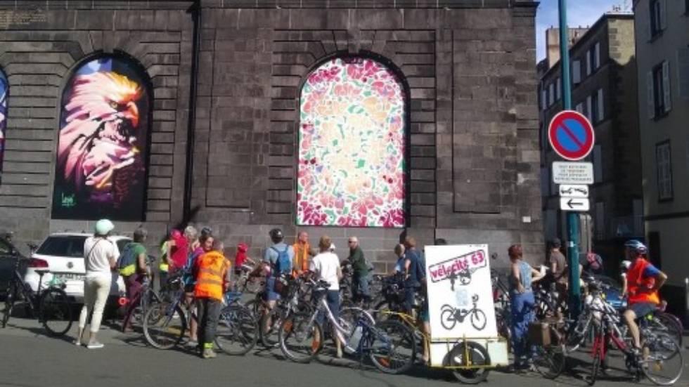 Visite guidée à vélo / Photo Vélo Cité 63