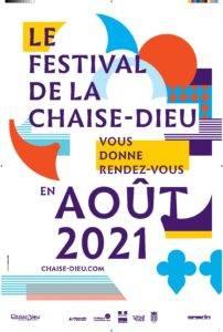 Affiche festival de la chaise Dieu