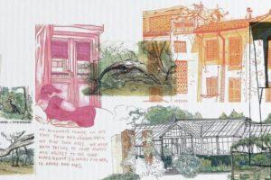 Illustration prix étudiant Carnet de voyage 2021