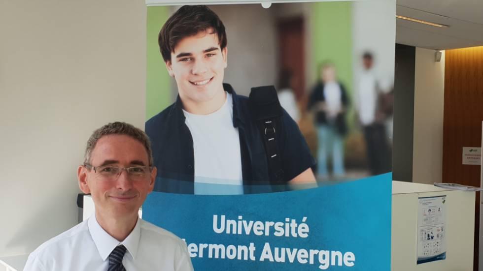 Le président de l'UCA Mathias Bernard / Photo 7 Jours à Clermont