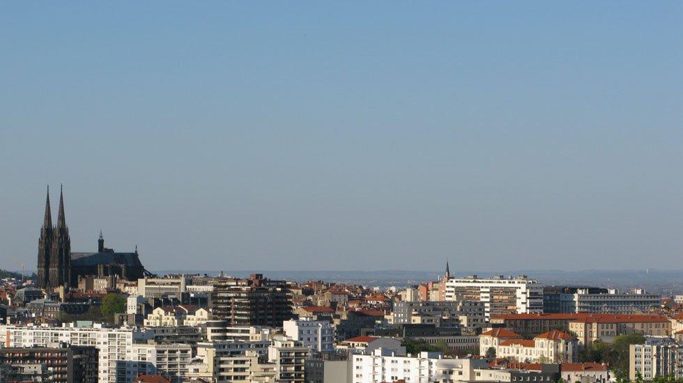 Vue de Clermont depuis Chemin des montagnards / Photo 7 Jour à Clermont