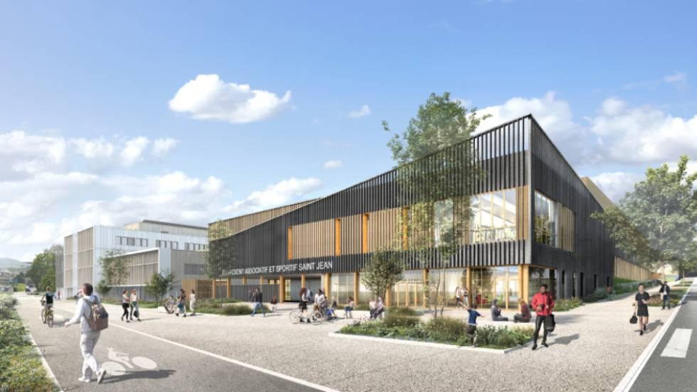 Equipement sportif Saint-Jean, Clermont / CRR Architecture