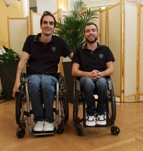 Congratulations to Adrien Chalmin and Nicolas Valentim