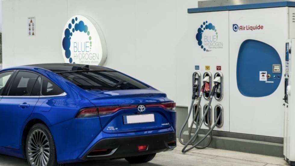 voiture à Hydrogène : photo Toyota
